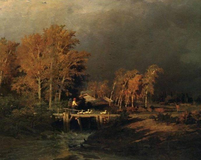 Федор васильев — художник трагической судьбы