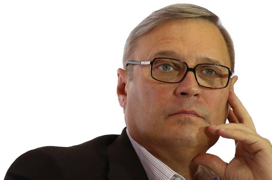 Экс-председатель правительства касьянов погряз в антироссийских интригах