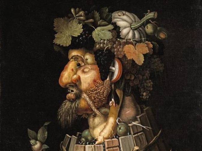 Картины джузеппе арчимбольдо, времена года, четыре стихии