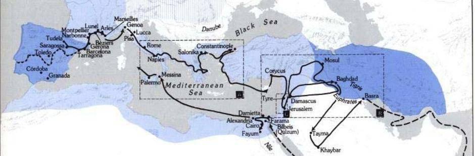 Вениамин тудельский: странствие «вечного жида»
