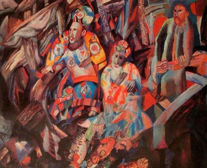 Павел филонов в коллекции гтг
