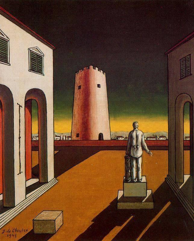 Становление творчества джорджо де кирико, биография и картины - галерея