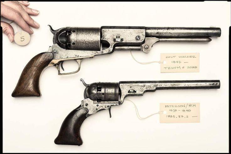 Пистолет кольт: два века оружейной истории