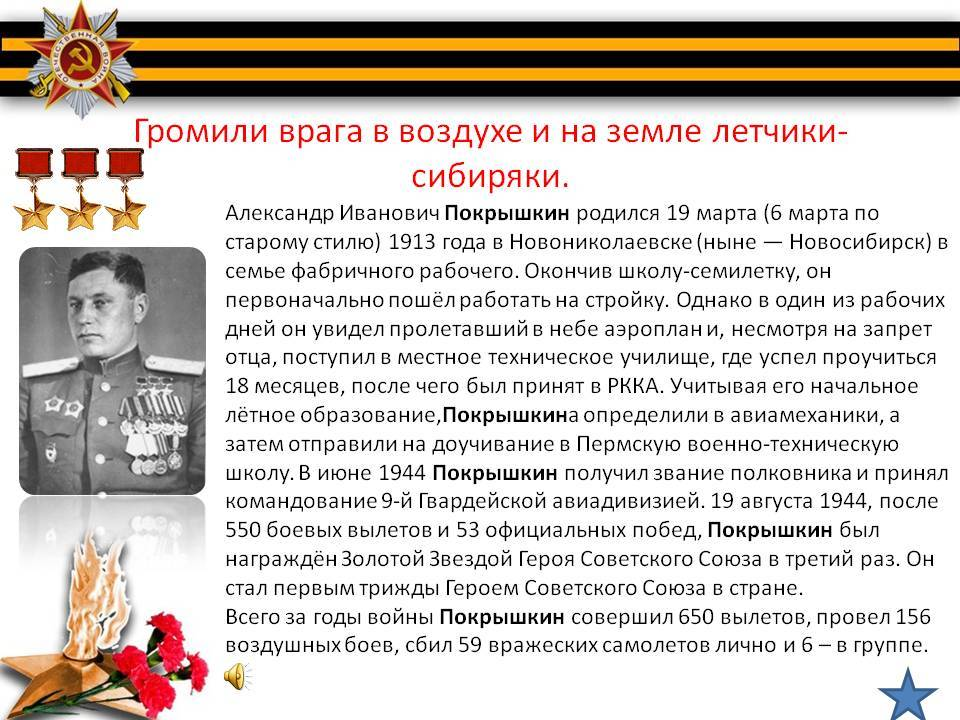 Александр иванович покрышкин: биография. сколько самолетов сбил покрышкин?