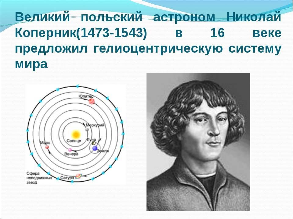 Николай коперник биография и вклад в науку