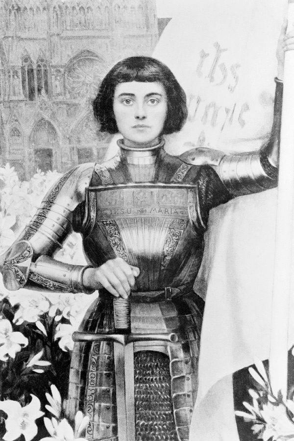 Жанна дарк: биография краткая. jeanne d'arc - национальная героиня франции