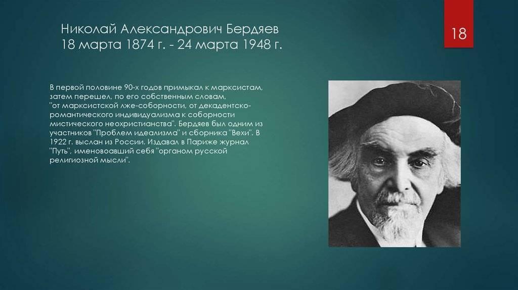 Бердяев Николай Александрович