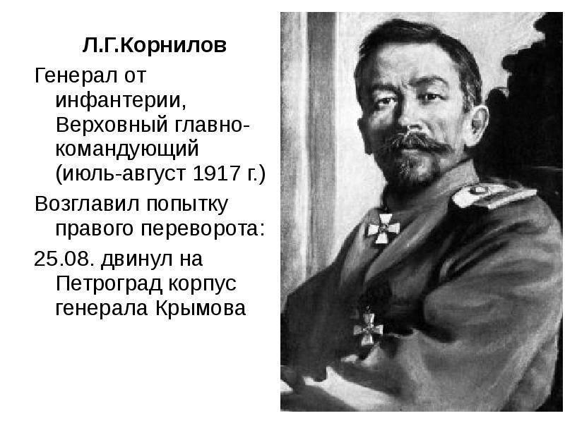 Лавр георгиевич корнилов — традиция