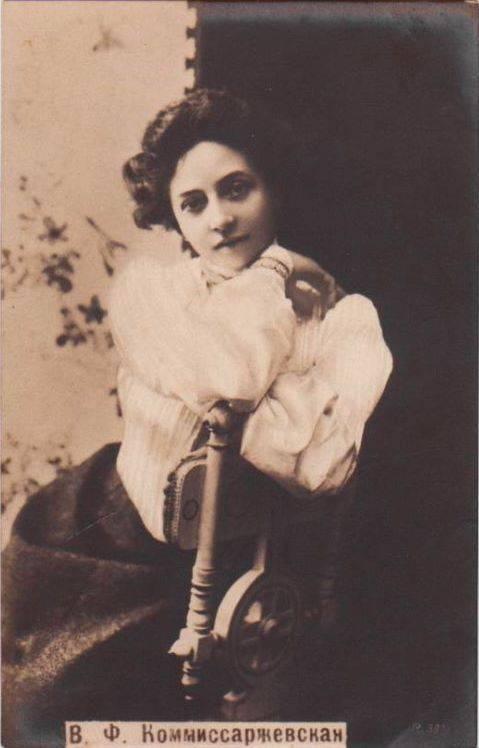 Комиссаржевская вера федоровна (1864–1910)
