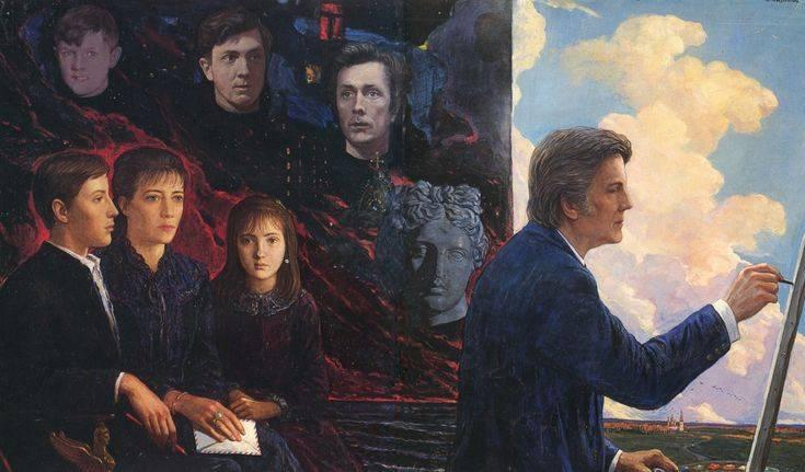 Илья глазунов – биография, фото, личная жизнь, картины и причина смерти - 24сми