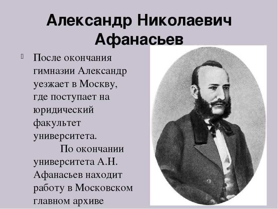 Афанасьев, александр николаевич