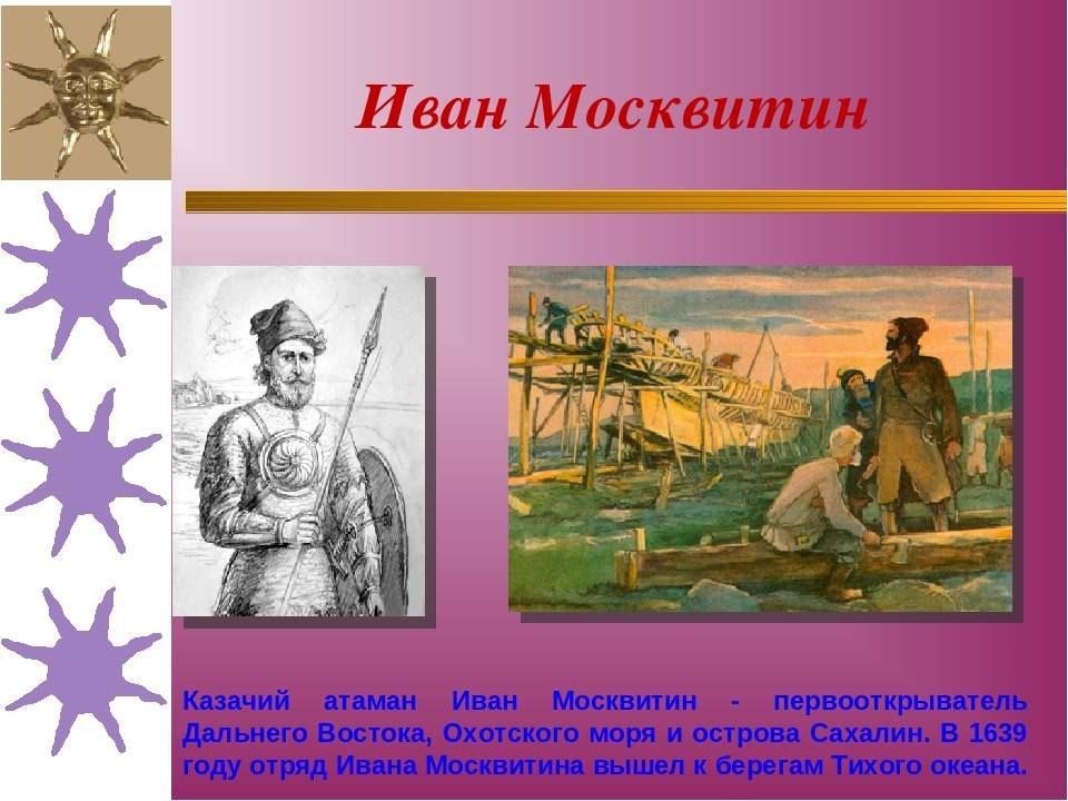 Иван москвитин