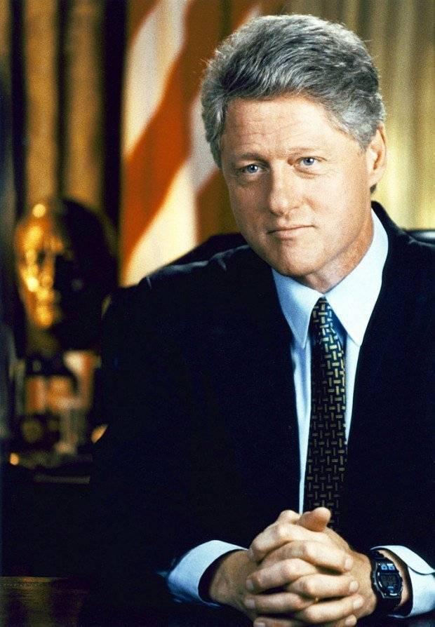Клинтон, билл — википедия