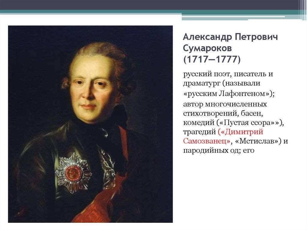 Костромские сумароковы | русская провинция