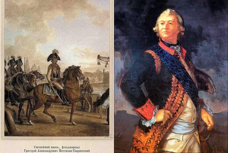 Князь потемкин: биография, фото, деятельность князя потемкина-таврического