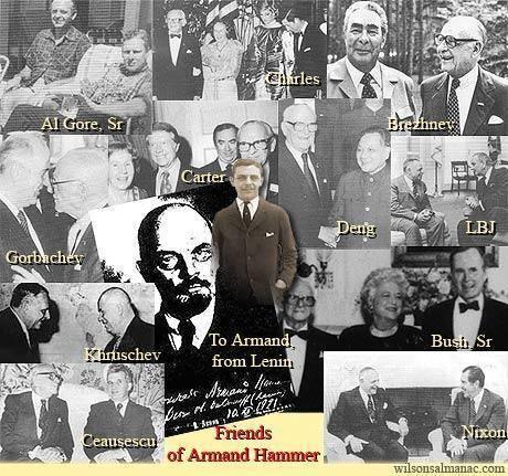 Арманд хаммер — биография красного миллионера