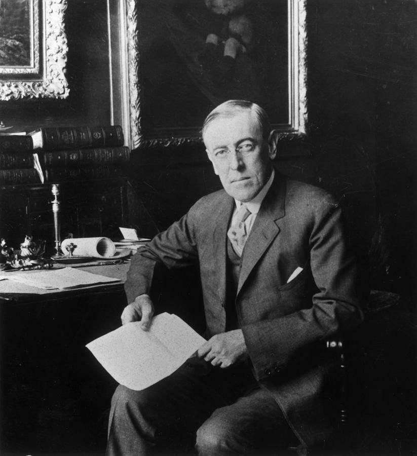 Президент сша вудро вильсон и его теория управления