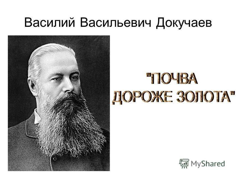 Докучаев, василий васильевич
