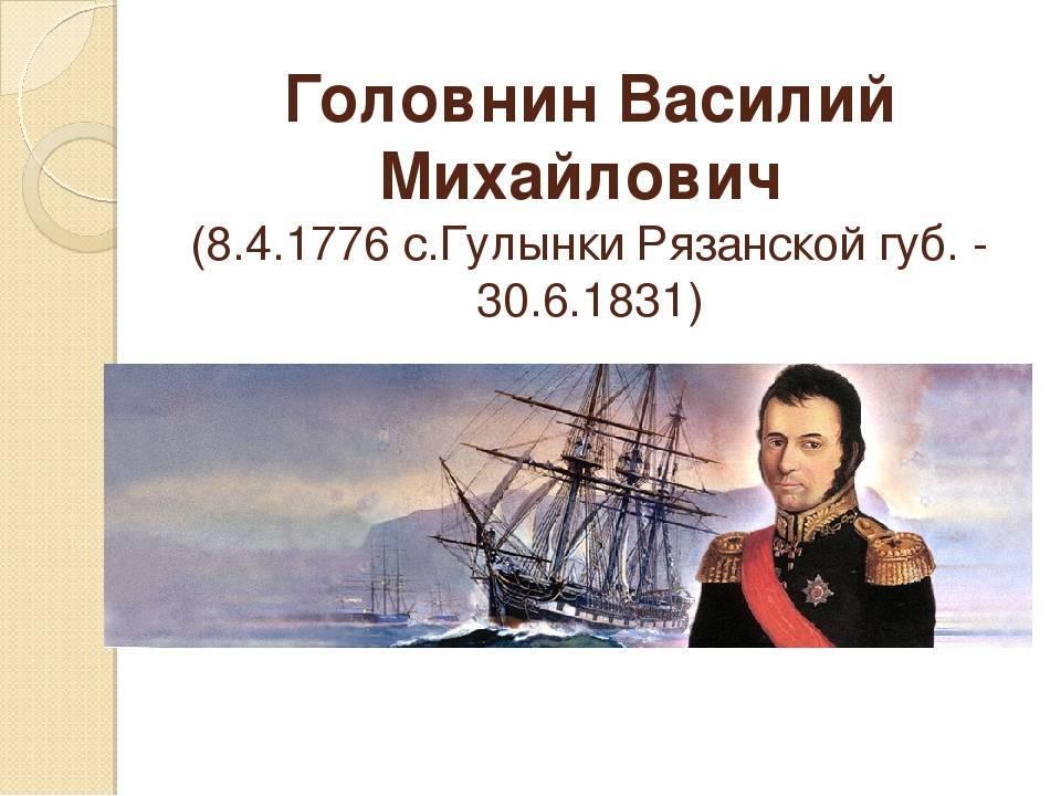 Василий михайлович головнин - вики