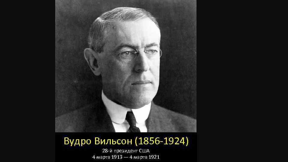 Вудро (томас) вильсон, президент сша (1856–1924). 100 великих политиков