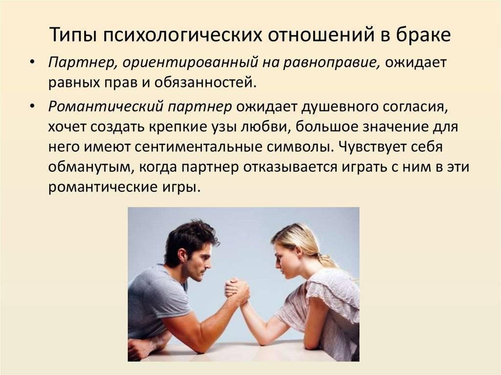 Отношения реальные и ожидаемые