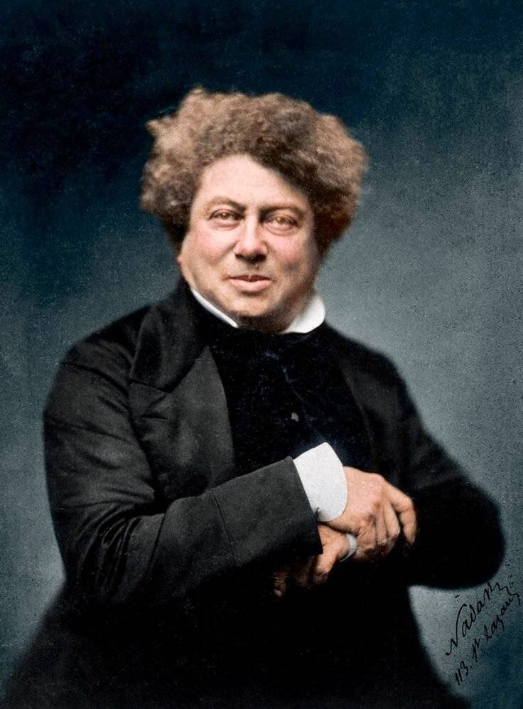 Александр дюма (отец) - краткая биография.