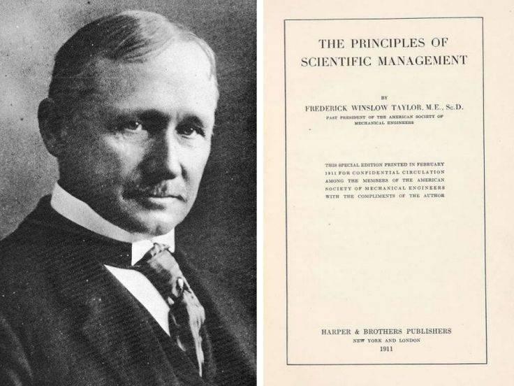 Фредерик тейлор - основоположник научной организации труда и менеджмента: биография, научные работы