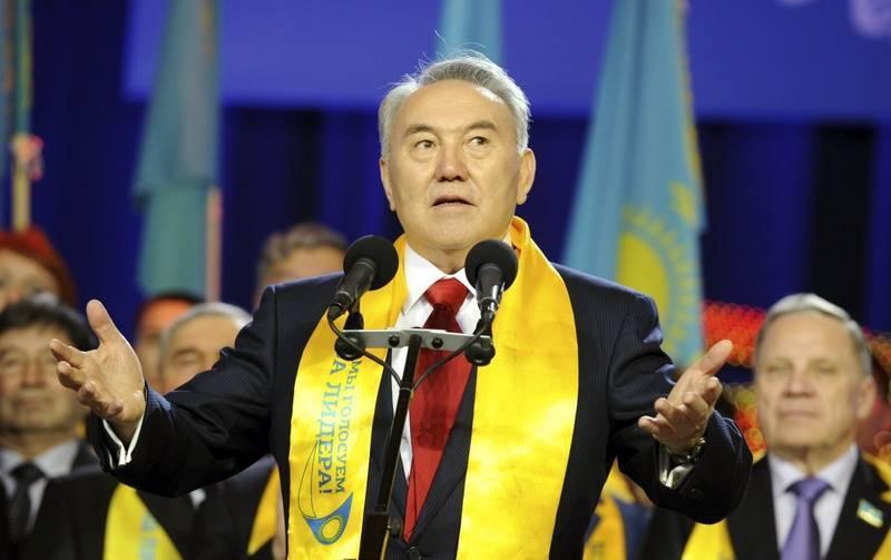 Нурсултан назарбаев - биография