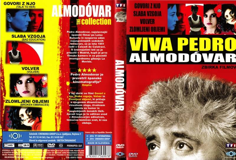 Биография Педро Альмодовара
