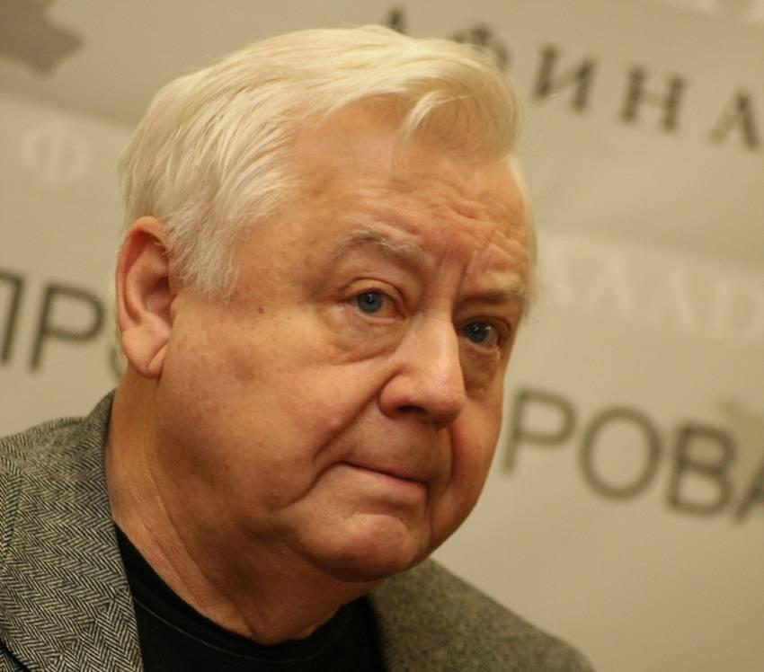 Олег табаков - биография, личная жизнь, фото