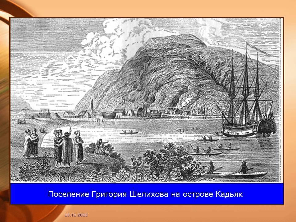 Шелихов, григорий иванович — вики