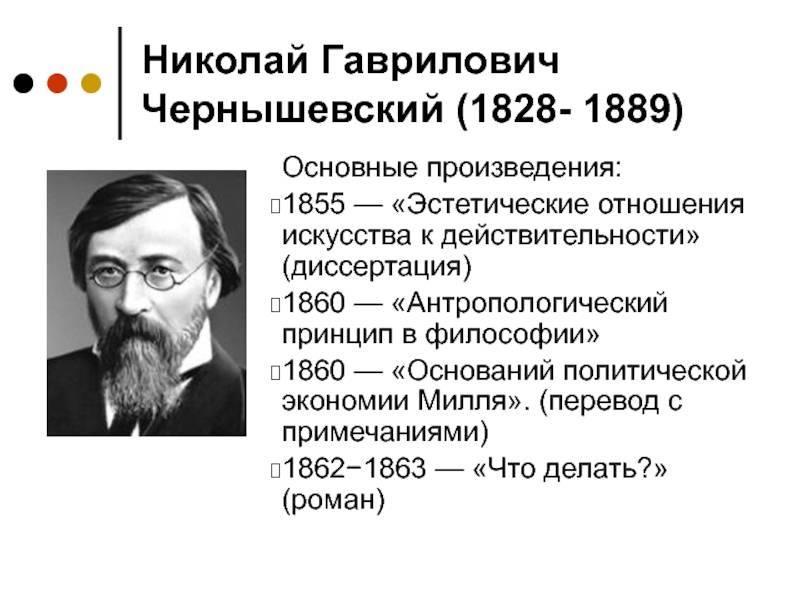 Николай чернышевский - краткая биография и фото