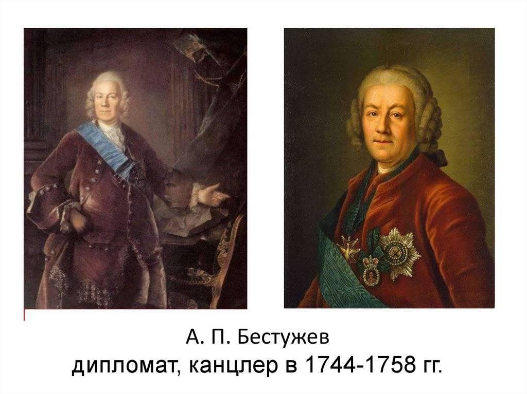 Алексей петрович бестужев-рюмин р. 22 май 1693 ум. 10 апрель 1767
