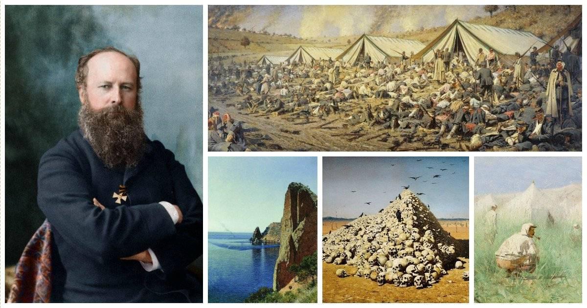 Василий верещагин – художник и воин