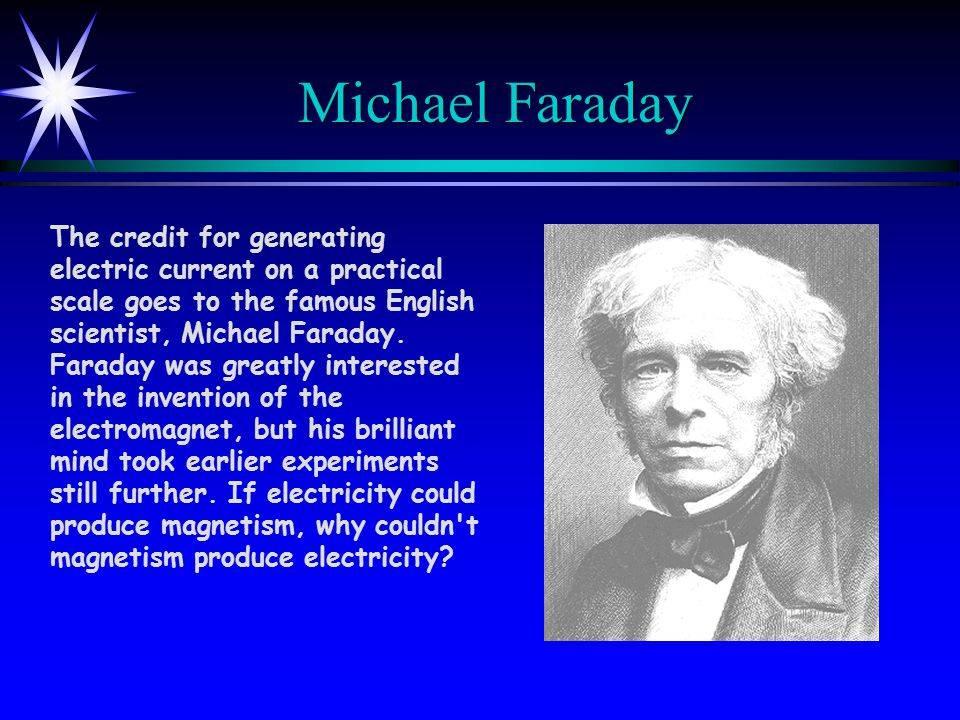 Майкл фарадей – биография, фото, личная жизнь, открытия, опыты, физика