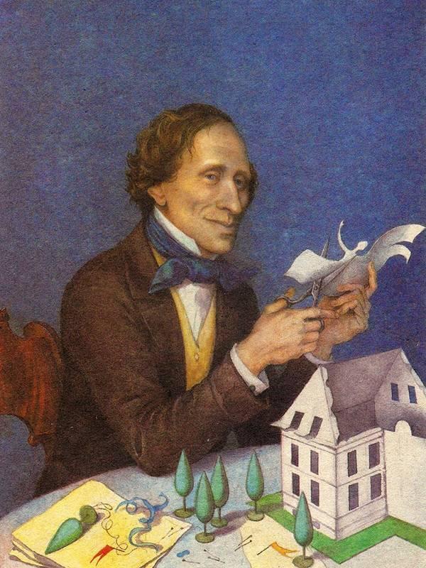 Ганс христиан андерсен биография кратко для детей и интересные факты
