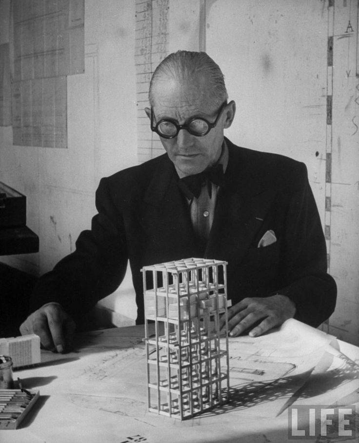 Ле корбюзье - архитектор - биография