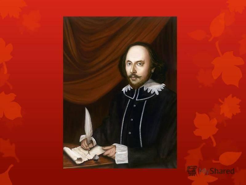 Биография шекспира