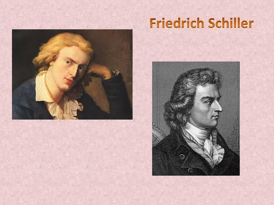 Фридрих шиллер - биография, информация, личная жизнь