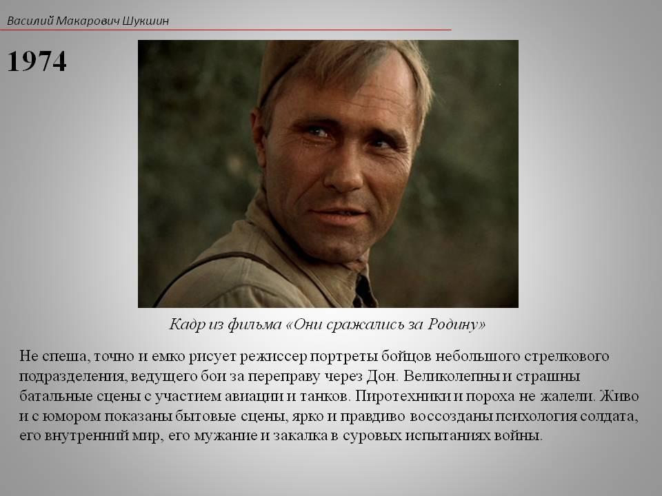 Василий шукшин - биография, личная жизнь, фото, фильмы, рассказы и последние новости - 24сми