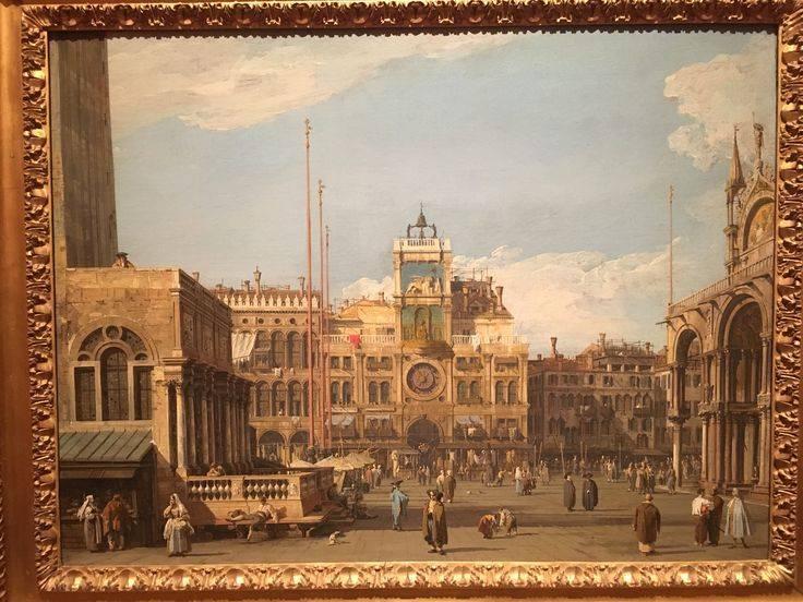Картина «колизей», антонио каналь (каналетто), 1745