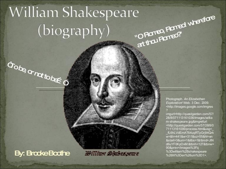 Уильям шекспир: годы жизни, краткая биография