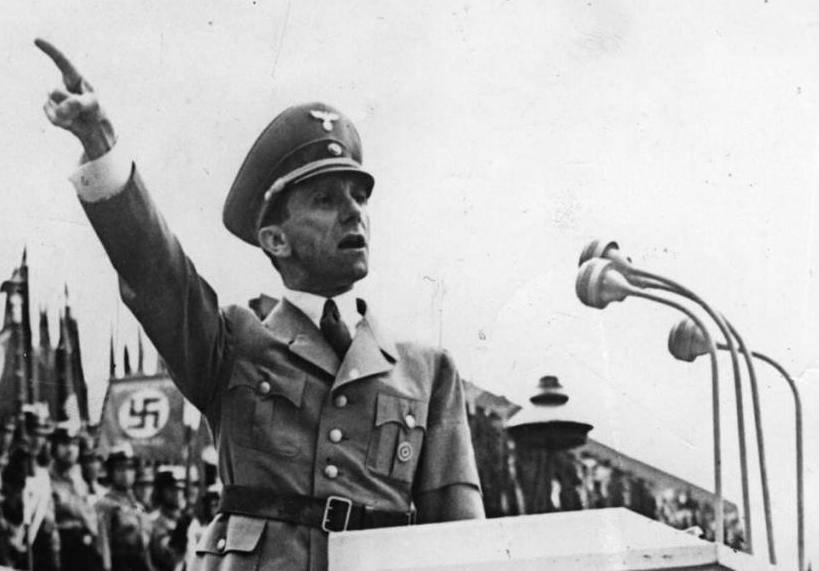 Геббельс йозеф: биография, пропаганда, последние записи