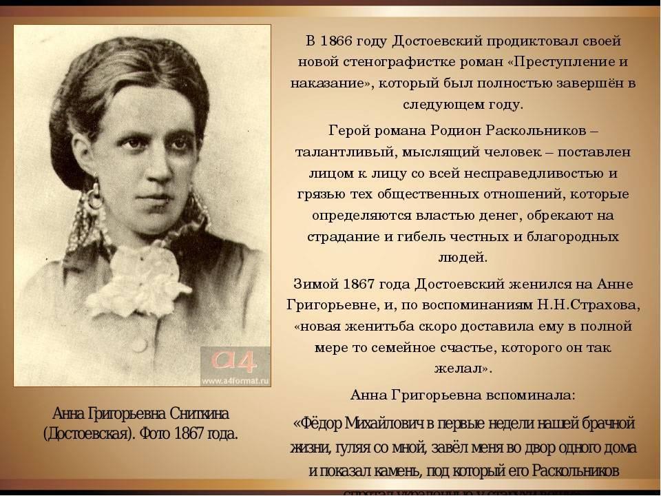 Женщины и жены достоевского