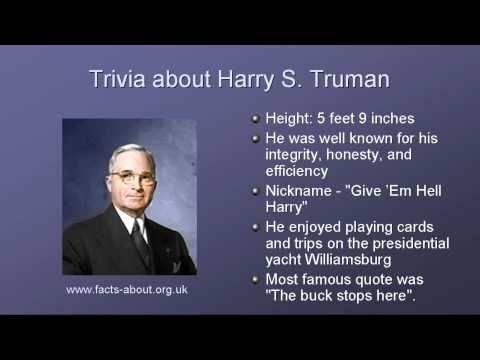 Гарри трумен