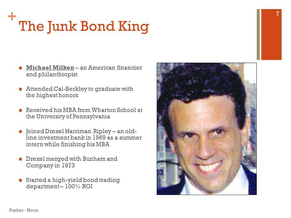 Король «мусорных» облигаций майкл милкен. «100 великих афер» | мусский игорь анатольевич