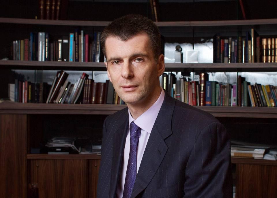 Михаил прохоров: биография, личная жизнь, семья, жена, дети — фото - globalsib