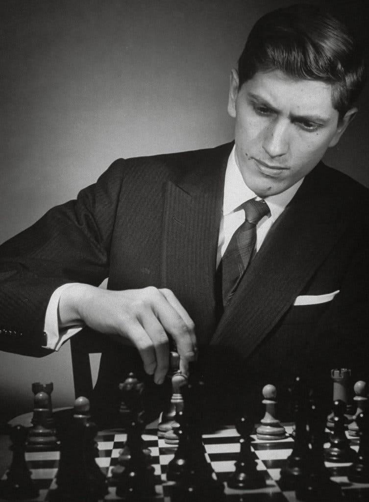 Бобби фишер — 11-й чемпион мира по шахматам