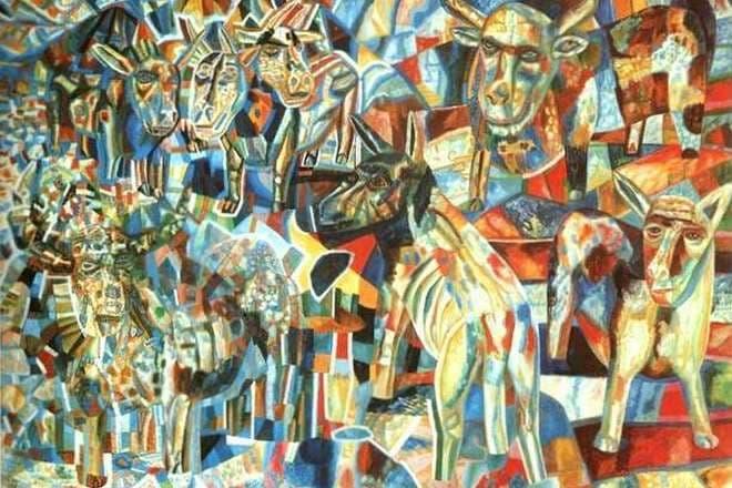 Павел филонов | картины в коллекции третьяковской галереи