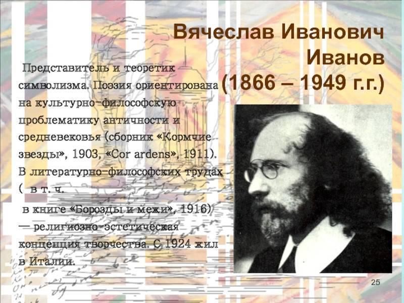 Вячеслав иванович иванов — циклопедия